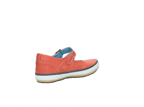 wolky mary janes 01226 tour 20530 coral red leather_10