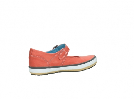 wolky mary janes 01226 tour 20530 coral red leather_11
