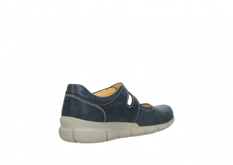 wolky mary janes 01508 kiowa 90820 denim blue dots nubuck_10