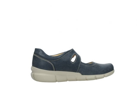 wolky mary janes 01508 kiowa 90820 denim blue dots nubuck_12
