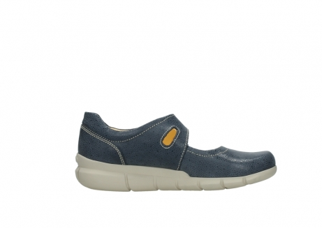 wolky mary janes 01508 kiowa 90820 denim blue dots nubuck_13