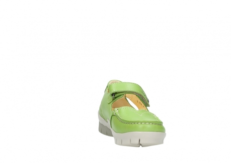 wolky mary janes 01754 polina 70750 lime leather_18