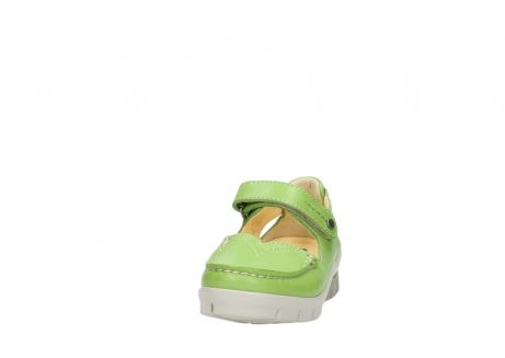wolky mary janes 01754 polina 70750 lime leather_20