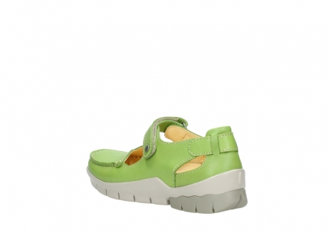 wolky mary janes 01754 polina 70750 lime leather_4