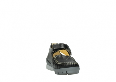 wolky mary janes 01754 polina 70070 black leather_18