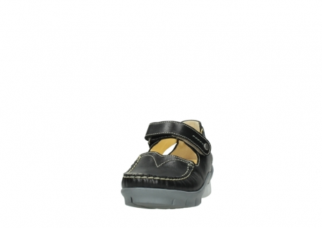 wolky mary janes 01754 polina 70070 black leather_20