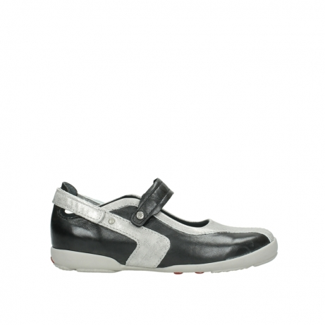 wolky mary janes 02026 rivera 30070 black summer leather