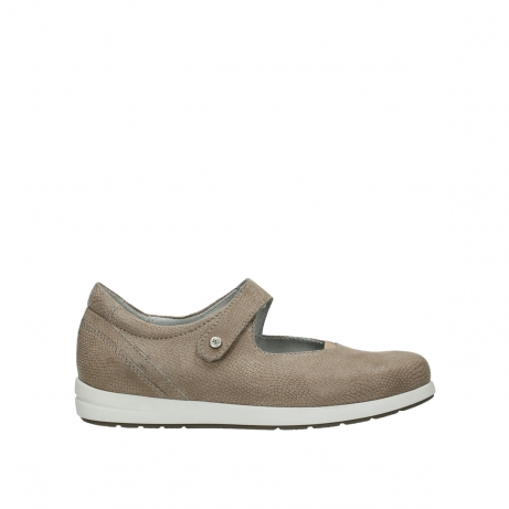 wolky bandschoenen 02421 electric 20151 taupe leer