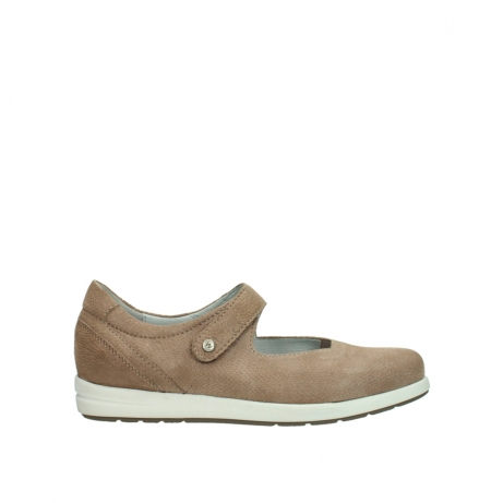 wolky chaussures a bride 02421 electric 20150 cuir taupe