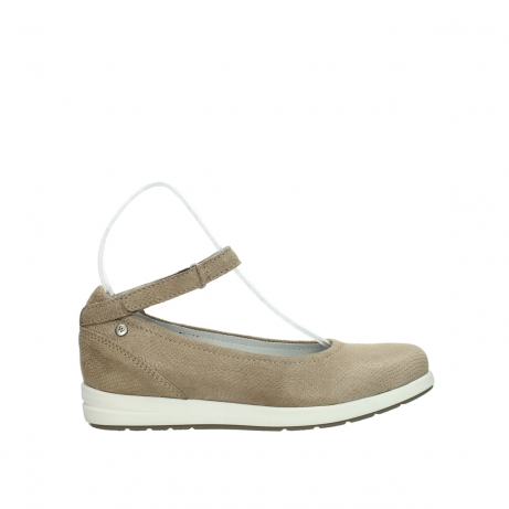 wolky riemchenschuhe 02422 magnetic 20150 taupe leder