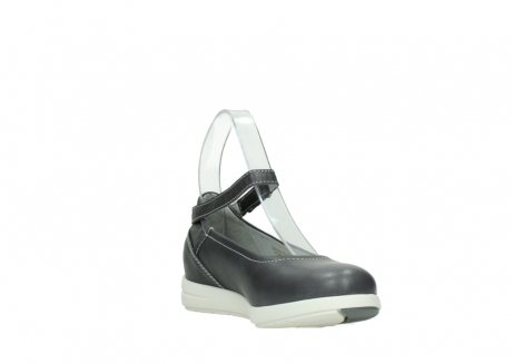 wolky chaussures a bride 02422 magnetic 30210 cuir anthracite_17