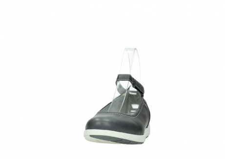wolky chaussures a bride 02422 magnetic 30210 cuir anthracite_20