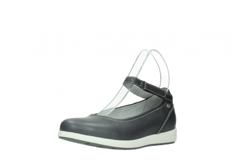 wolky chaussures a bride 02422 magnetic 30210 cuir anthracite_22