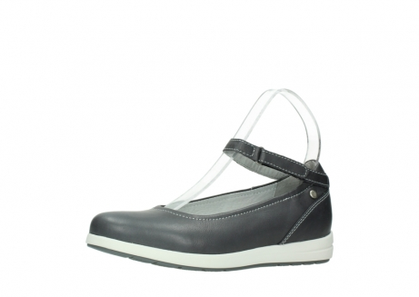 wolky chaussures a bride 02422 magnetic 30210 cuir anthracite_23