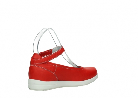 wolky chaussures a bride 02422 magnetic 30500 cuir rouge_10