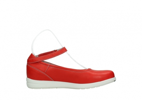wolky chaussures a bride 02422 magnetic 30500 cuir rouge_13