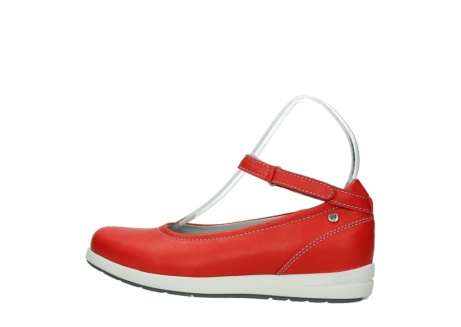 wolky chaussures a bride 02422 magnetic 30500 cuir rouge_2