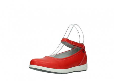 wolky chaussures a bride 02422 magnetic 30500 cuir rouge_22