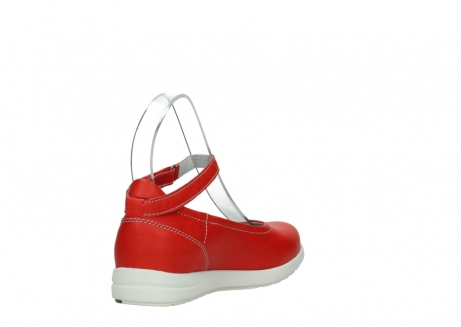 wolky chaussures a bride 02422 magnetic 30500 cuir rouge_9