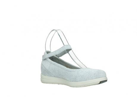wolky chaussures a bride 02422 magnetic 49122 blanc casse gris_16