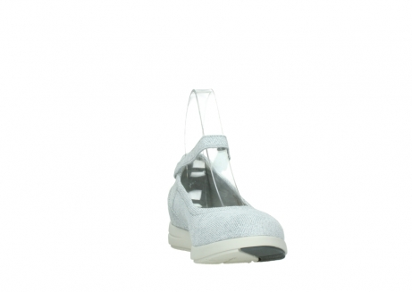 wolky chaussures a bride 02422 magnetic 49122 blanc casse gris_18