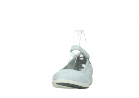 wolky chaussures a bride 02422 magnetic 49122 blanc casse gris_20