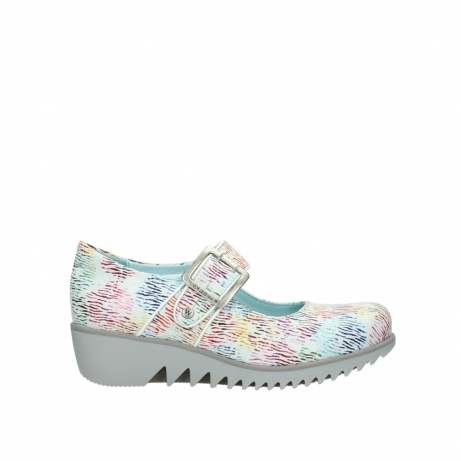 wolky riemchenschuhe 03811 silky 70980 wei multi color canal leder
