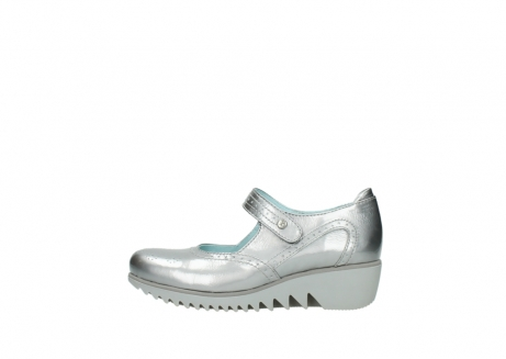 wolky mary janes 03819 daisy 80200 grey patent metallic leather_1
