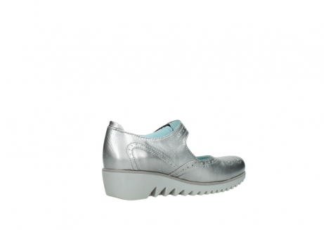 wolky mary janes 03819 daisy 80200 grey patent metallic leather_11