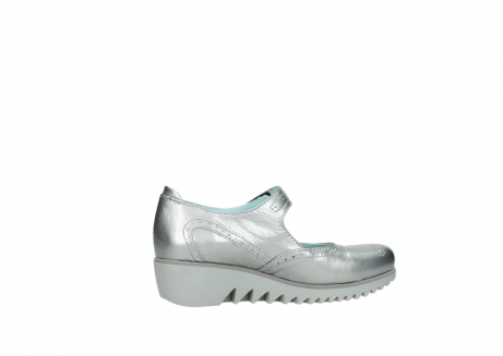 wolky mary janes 03819 daisy 80200 grey patent metallic leather_12