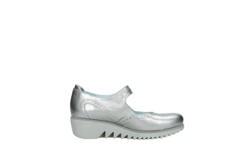 wolky mary janes 03819 daisy 80200 grey patent metallic leather_13