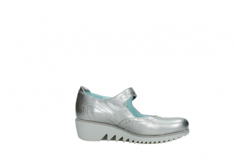wolky mary janes 03819 daisy 80200 grey patent metallic leather_14