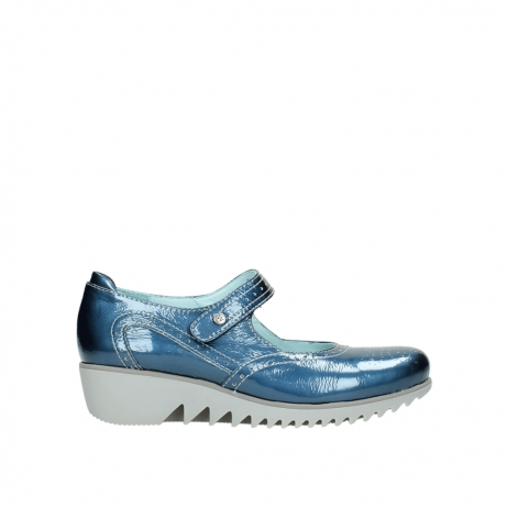 wolky mary janes 03819 daisy 80820 denim patent metallic leather