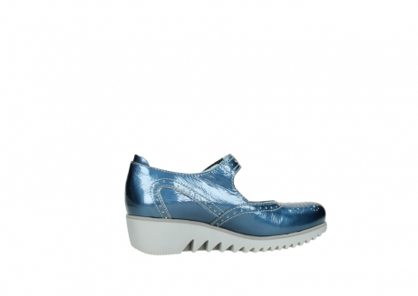 wolky mary janes 03819 daisy 80820 denim patent metallic leather_12