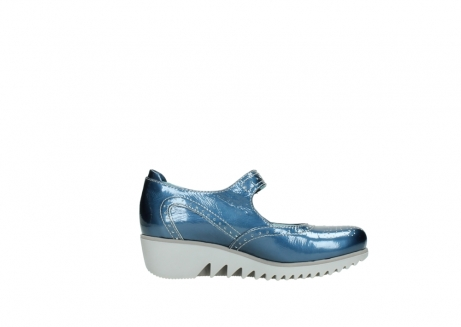 wolky mary janes 03819 daisy 80820 denim patent metallic leather_13