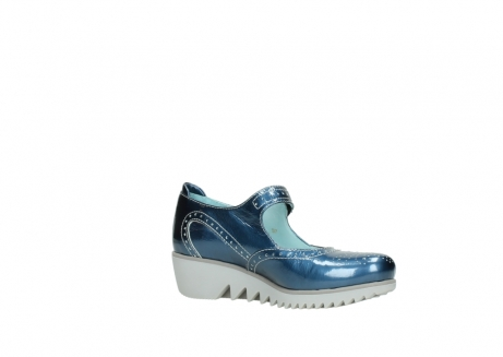 wolky mary janes 03819 daisy 80820 denim patent metallic leather_15