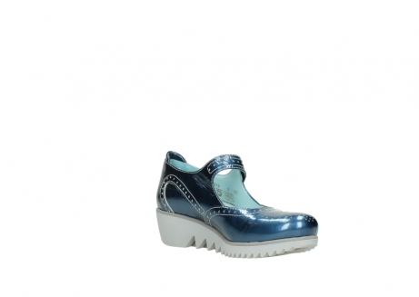wolky mary janes 03819 daisy 80820 denim patent metallic leather_16