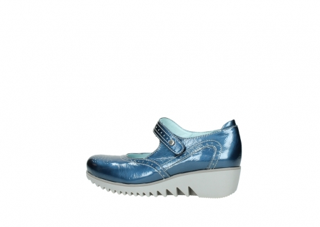 wolky mary janes 03819 daisy 80820 denim patent metallic leather_2