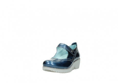 wolky mary janes 03819 daisy 80820 denim patent metallic leather_21