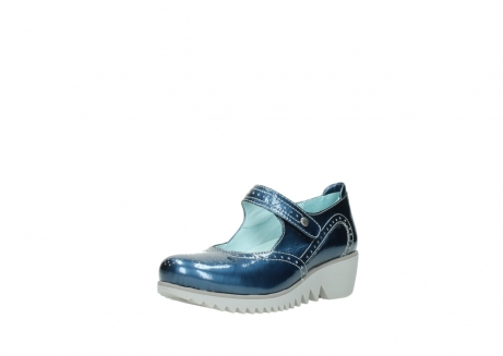 wolky mary janes 03819 daisy 80820 denim patent metallic leather_22