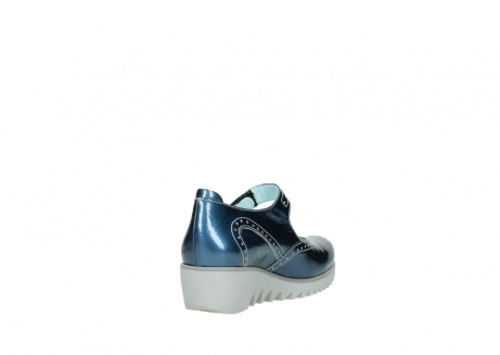 wolky mary janes 03819 daisy 80820 denim patent metallic leather_9
