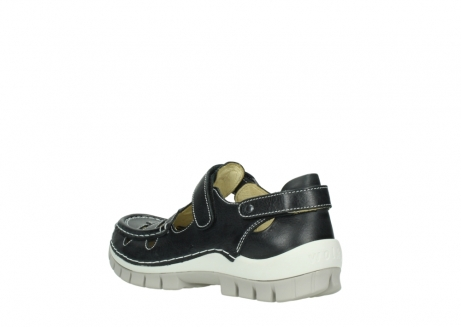 wolky mary janes 04703 move 30070 black summer leather_4