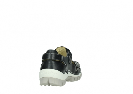 wolky mary janes 04703 move 30070 black summer leather_8