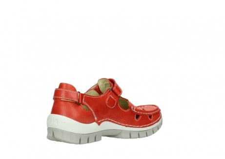 wolky chaussures a bride 04703 move 30570 cuir rouge_10