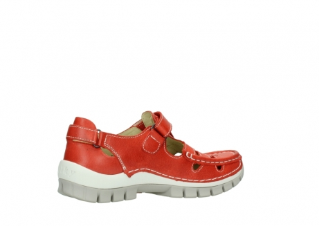 wolky chaussures a bride 04703 move 30570 cuir rouge_11