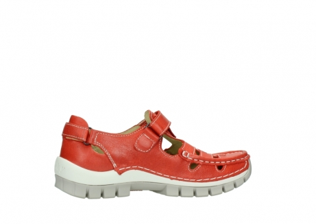 wolky chaussures a bride 04703 move 30570 cuir rouge_12