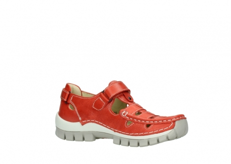 wolky chaussures a bride 04703 move 30570 cuir rouge_15