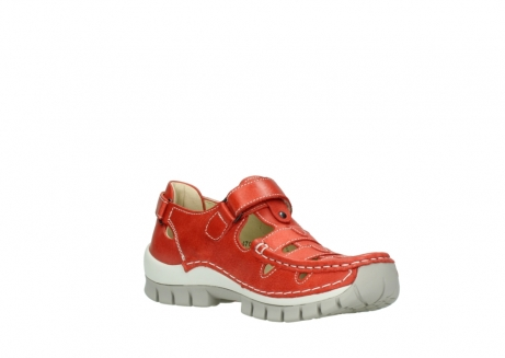 wolky chaussures a bride 04703 move 30570 cuir rouge_16