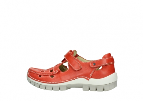 wolky chaussures a bride 04703 move 30570 cuir rouge_2
