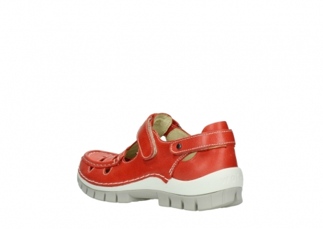 wolky chaussures a bride 04703 move 30570 cuir rouge_4